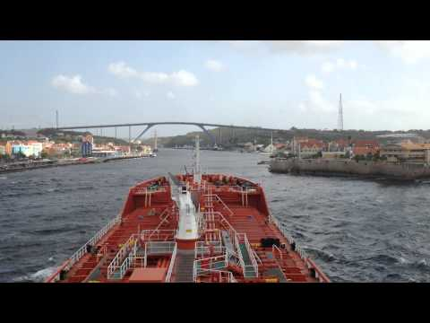 Willemstad Curacao Harbour Approach