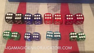 Loaded USA precision dice with serial number Nevada Las Vegas dice +40752565565