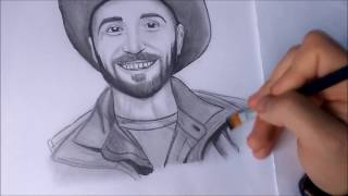 [Brave Wilderness] Coyote Peterson -speed drawing ~RA