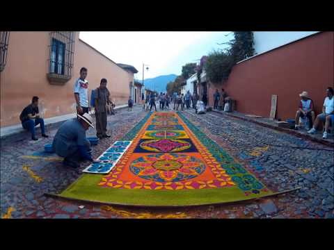 Antigua Guatemala Easter Week Celebration