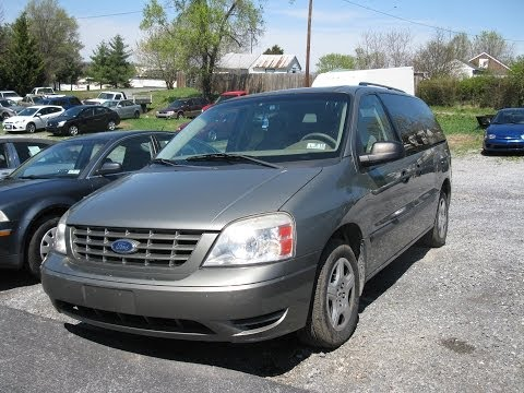 2004 Ford Freestar Se Start Up And Tour Youtube