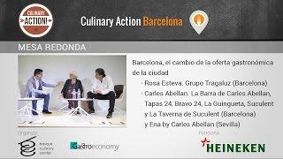 Barcelona, el cambio de la oferta gastronómica Culinary Action Barcelona 2017