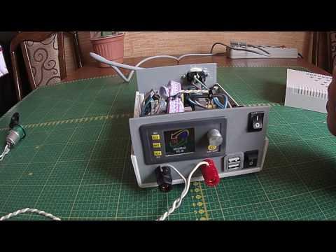 видео: Самодельный лабораторный блок питания.