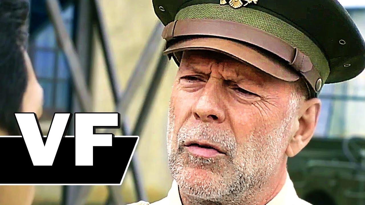 LES SENTINELLES DU PACIFIQUE Bande Annonce (2018) Bruce Willis, Action