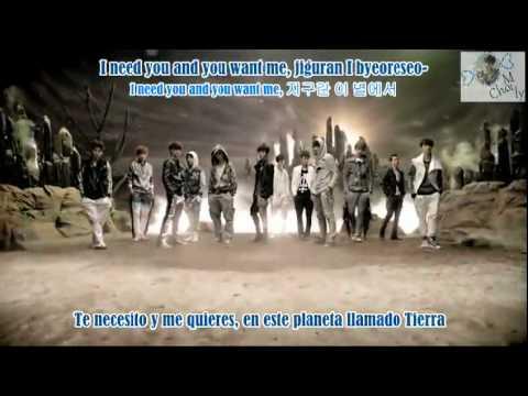 EXO K - History (Sub Español - Rom-Han)