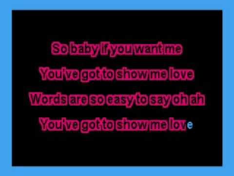 Show Me Love (Robin S.) karaoke