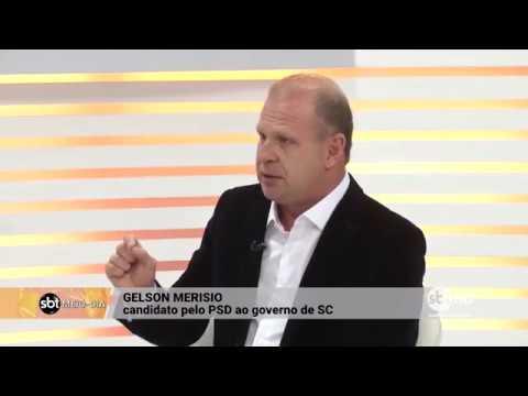 Entrevista com Gelson Merísio, candidato pelo PSD ao governo de SC | SBT Meio-Dia