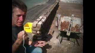 Repairing A Damaged Brick Wall.