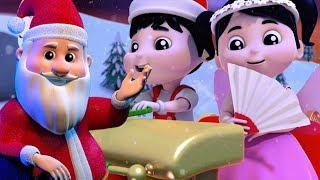 sinos de tinir | natal rimas | Papai Noel canção | crianças natal canções | Jingle Bells Song