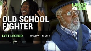 Donald Mac is an Old School Fighter | Kevin Hart: Lyft Legend | LOL Network