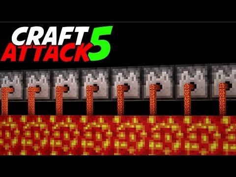 Lavaverteidigung 💥 Craft Attack 5 #12 Minecraft Deutsch 💥 baastiZockt