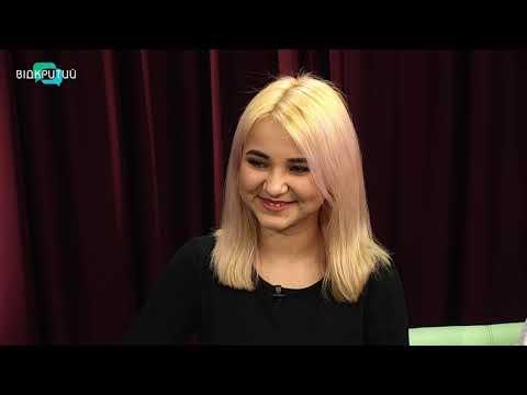 """Єва Сирота та її батько Юрій Сирота - продюсер, композитор у програмі """"Фреш"""" з Юлією Сиротою"""