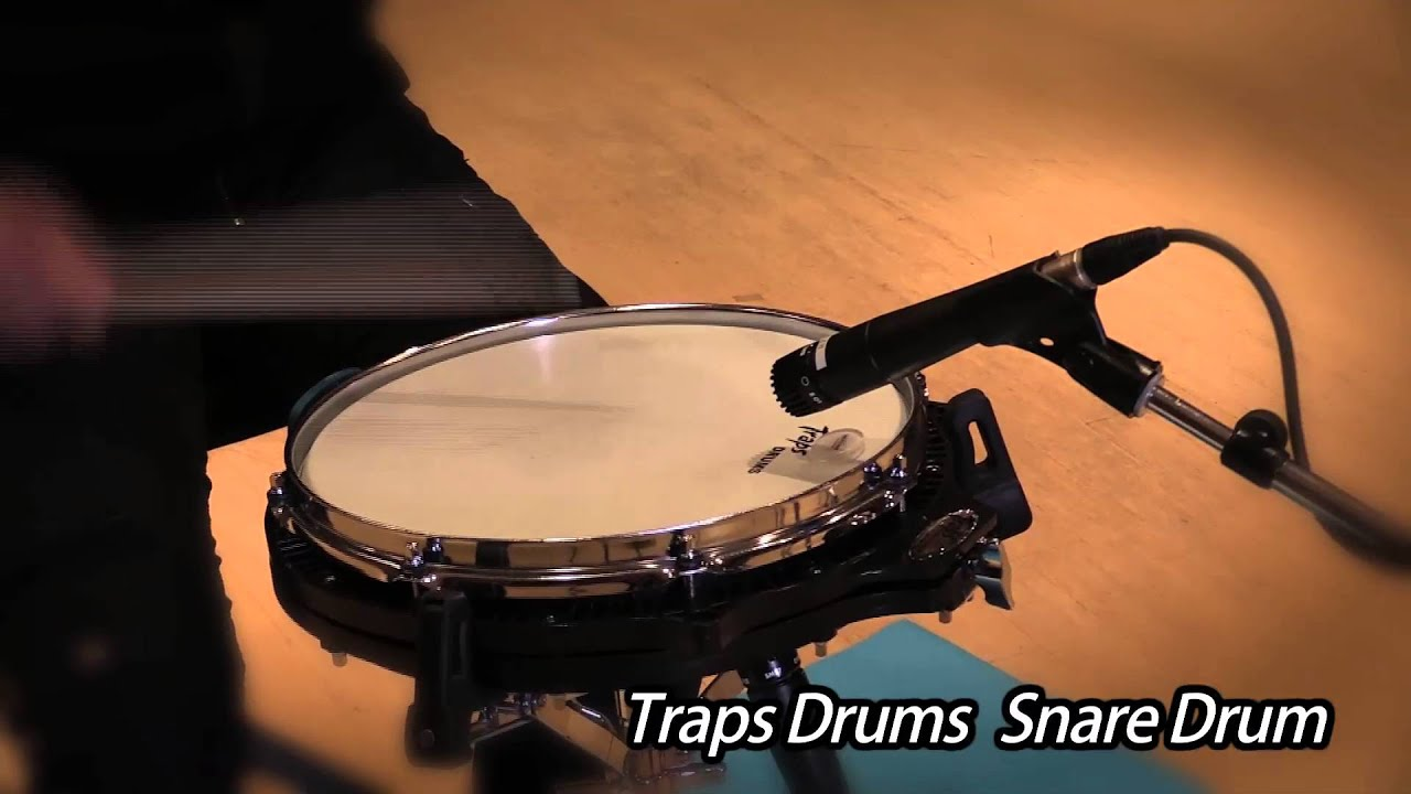 Traps Drum Snare Drum 【Sound Check】 - YouTube