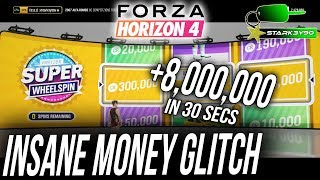Forza Horizon 4 FASTEST MONEY GLITCH 8 Million CR in less than 30 Seconds!