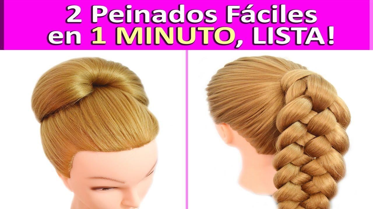 Peinados con extensiones faciles y rapidos recogidos - Peinados fiesta faciles ...