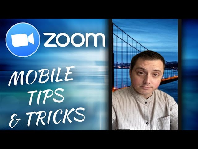 How To Use Virtual Backgrounds In Zoom From Your Phone Youtube