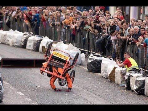 CURSA CARRETONS CAMPOS 2017 accidentes incluidos soapbox derby crashes gravity racing descenso