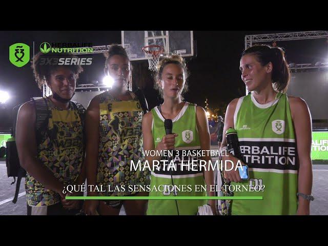 Entrevista Women 3 Basketball, subcampeonas Máster Final Barcelona Herbalife 3x3 Series 2021