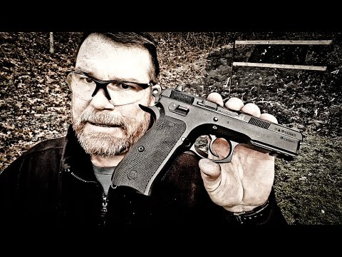 CZ SP-01 Manual Safety Range Review!!  IT WILL DO!