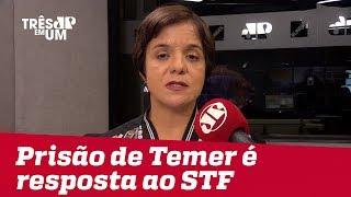 #VeraMagalhães: Prisão de Temer é uma resposta política da Lava Jato às decisões do STF thumbnail