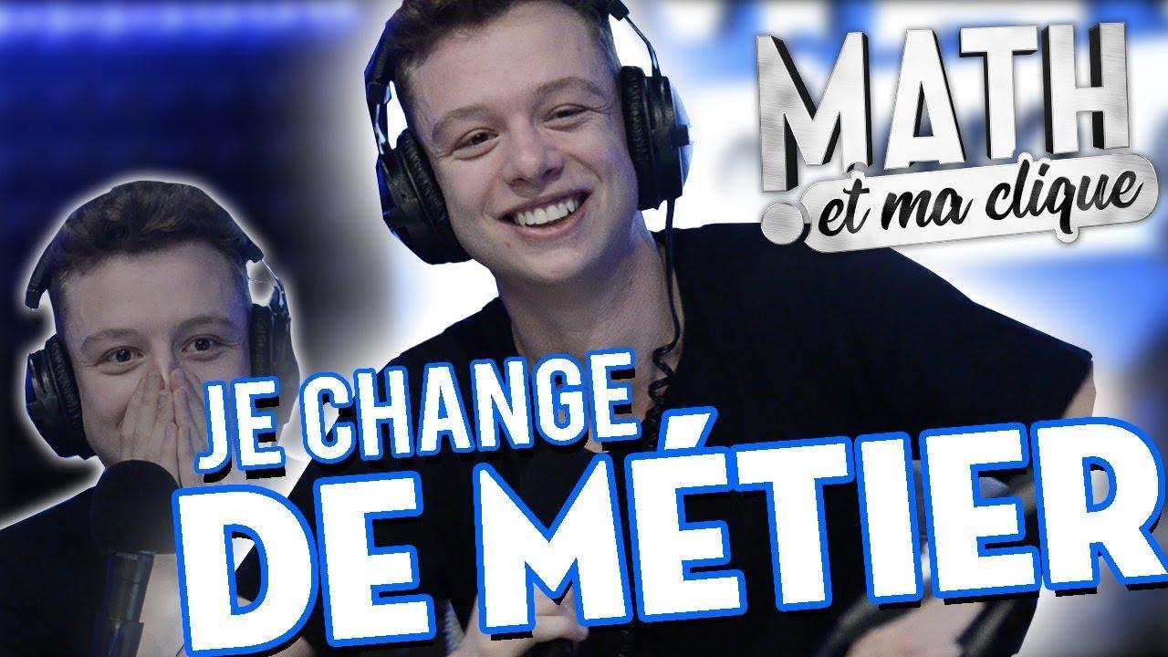 JE CHANGE DE MÉTIER !