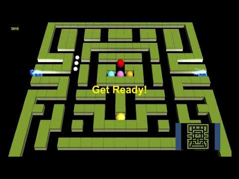 Pacman 3D [PC] Gameplay