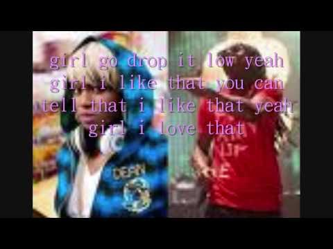 Drop it low lil wayne remix with lyrics (HD)