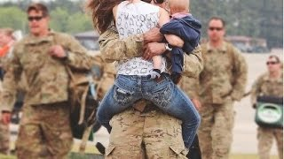 Soldiers Coming Home Surprise Compilation 2015 - 5