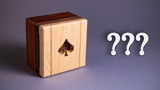 The Secret of the Ingenious Spade Case Trick Box!!