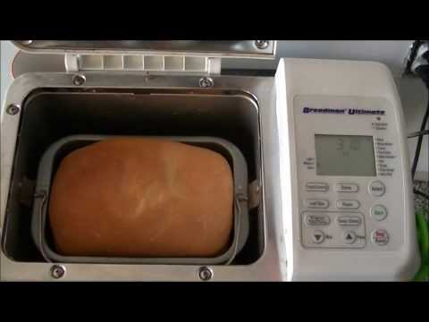 Baking Bread In Bread Machine