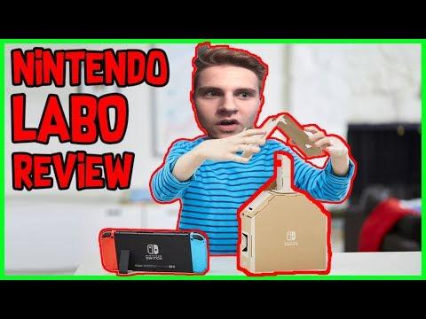 Nintendo Labo: Honest Trailer