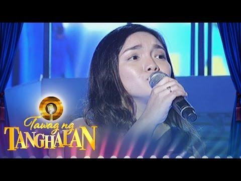 Tawag ng Tanghalan: Jadie Mae Natividad -