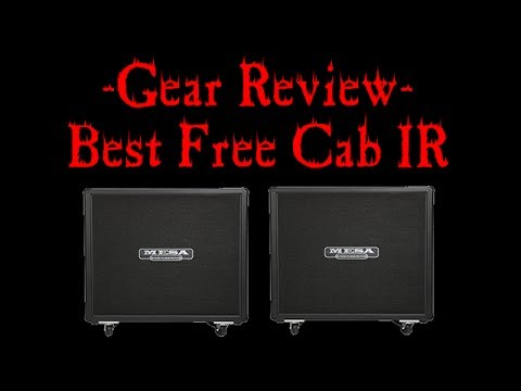 Gear Review - Best Free Metal Guitar Cab IRs (Preset Downloads ...