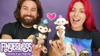 FINGERLINGS! Unboxing New Fun Monkey Toys by Wowwee