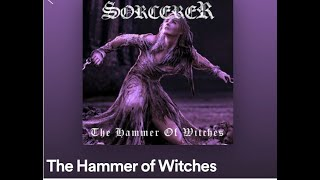 """Sorcerer new song """"The Hammer Of Witches"""" off new album 'Lamenting of the Innocent'"""