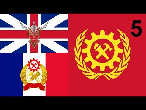 Hearts of Iron IV - Kaiserreich - Union of Britain | Co-Op with Conquering History Games - 5