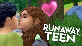 HE WAS USING HER?! // The Sims 4: Runaway Teen Challenge #12