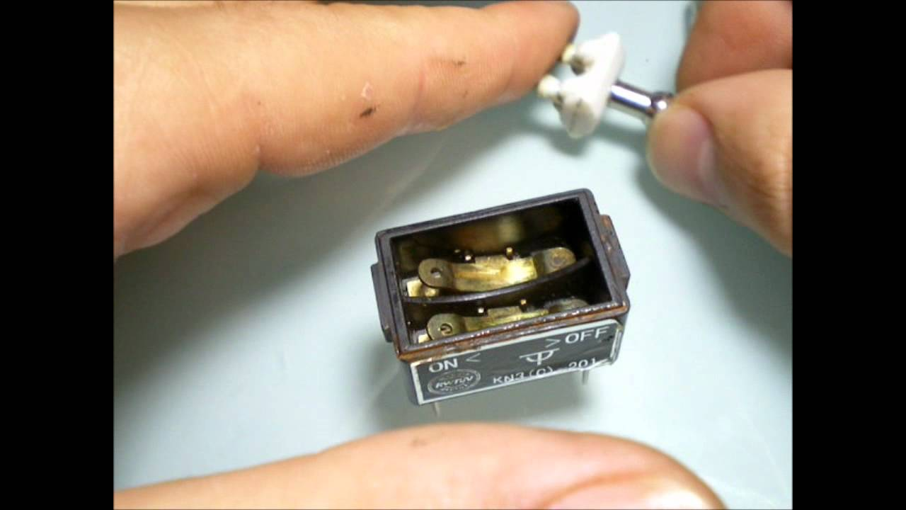 Toggle Switch Disassembly Youtube