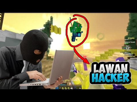 LAWAN 2 HACKER!! - Minecraft Bedwars Indonesia ft. Nevin, Dvst, Saryu