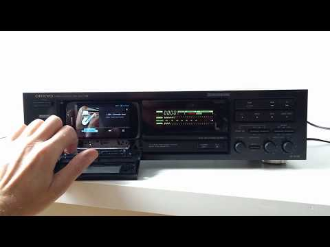Onkyo TA-2630 working as internet radio - MP3 Tapeless Deck Project