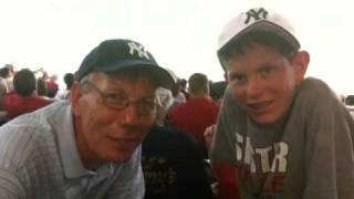 Daniel at Yankee Stadium