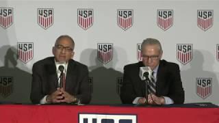 U.S. Soccer President Carlos Cordeiro Press Conference