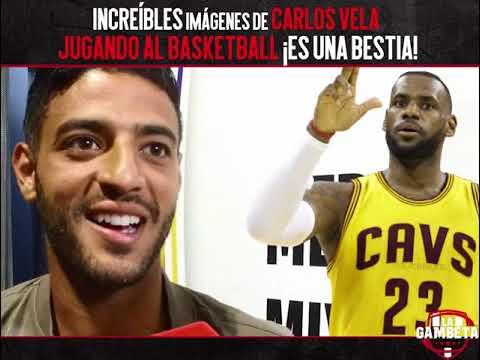 Increíbles imágenes de Carlos Vela jugando Basketball Es una Bestia
