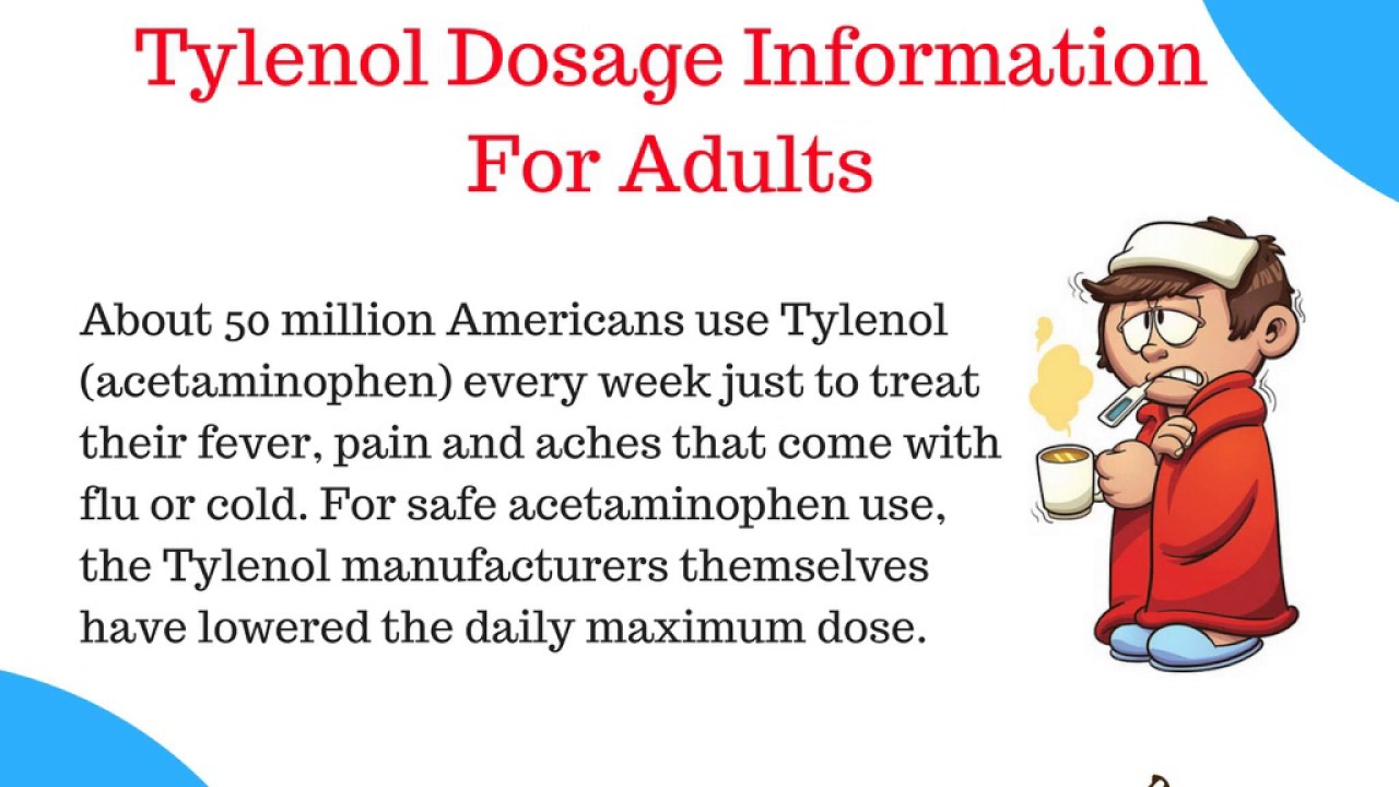 How Long Does It Take For Tylenol To Work Youtube