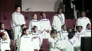EAME Children's Singing Black National Anthem with lead by Jasmine Dantzler