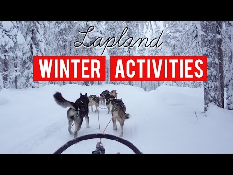 Epic Winter Activities - Pyhä, Finland [Eurotrip Day 19 of 22]