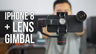 Testing out the iphone 8 4k 60fps with moment lens & zhiyun gimbal! v2 lenses cases amazon: http://geni.us/verfgt bh: http://geni.us/kdji zhiyun...