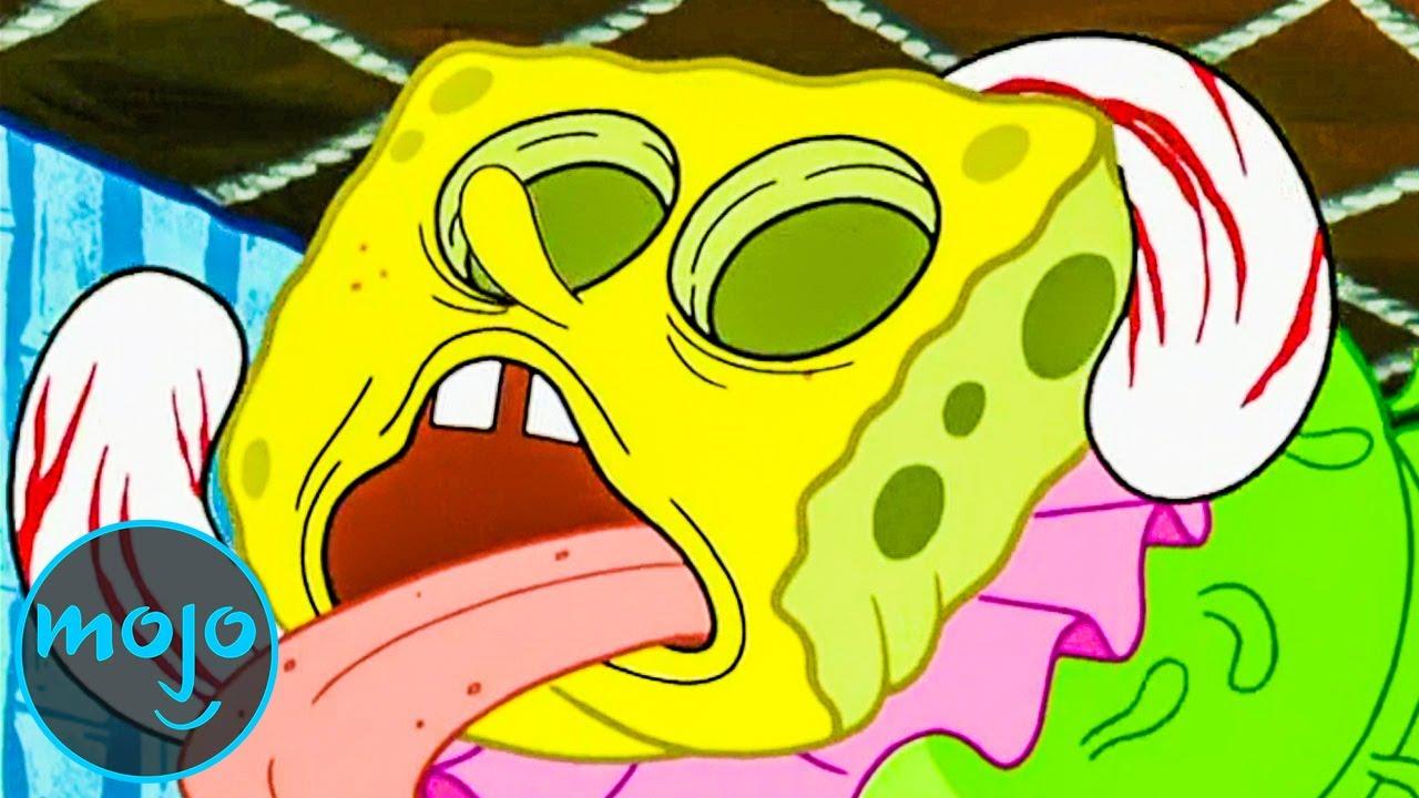 Download Top 10 Times SpongeBob Fuelled Our Nightmares