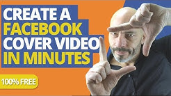 Create a Facebook Cover Video in Minutes (FOR FREE)