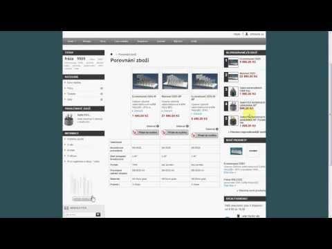 Řazení a porovnání zboží na www.tools-shop.cz (2.)